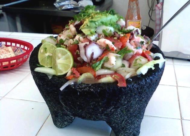 Tostada Loca at La Playita